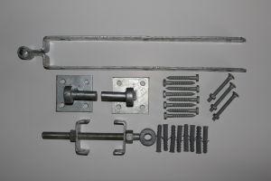 Verstelbare Scharnieren op plaat (60 cm).